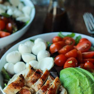 #7. Avocado Caprese Chicken Salad
