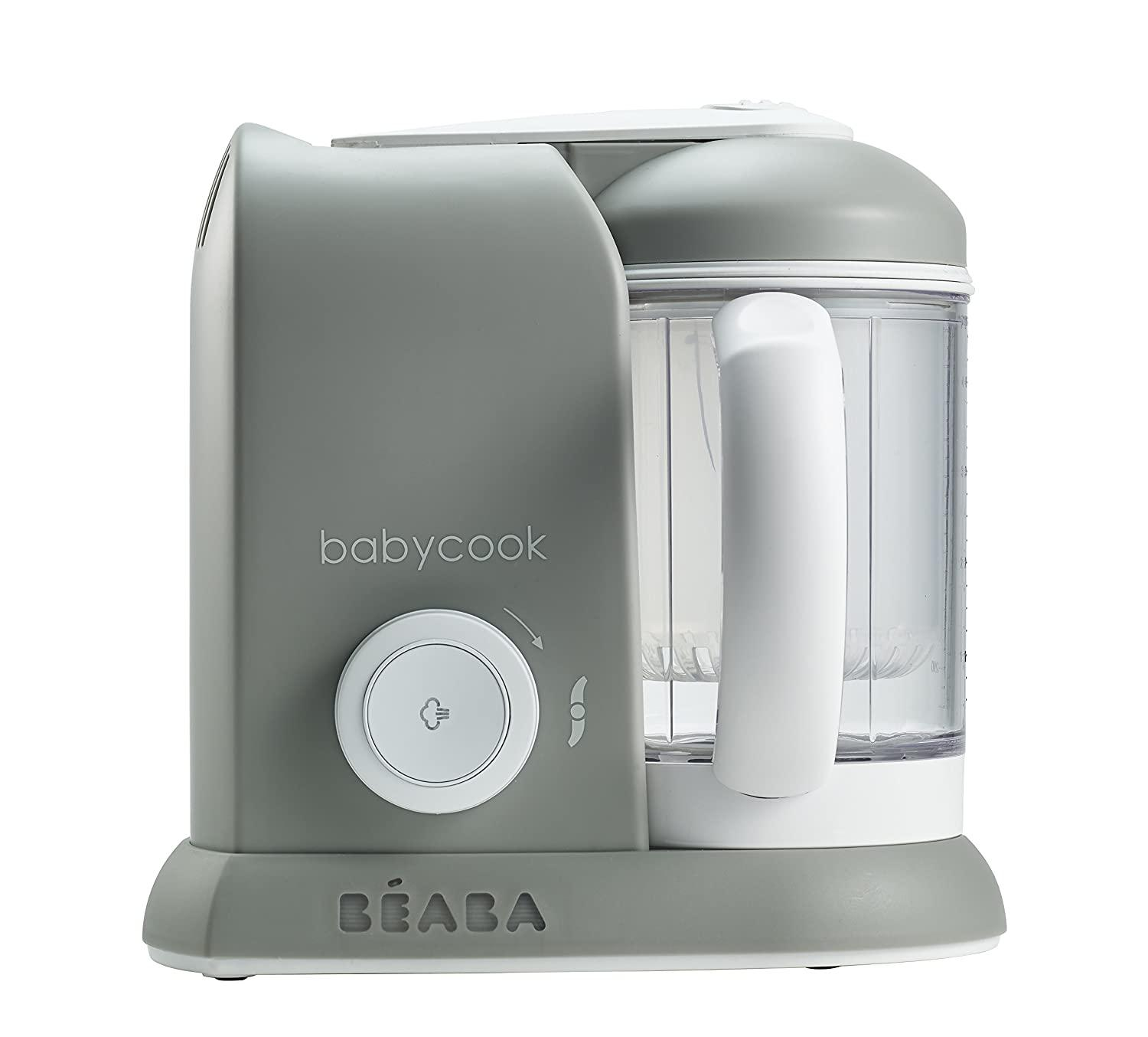 The BEABA Babycook 4-in-1 Steam Cooker and Blender