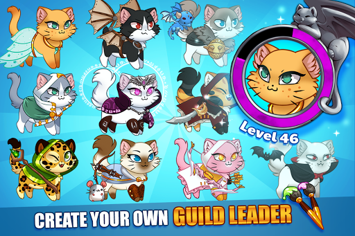 Castle Cats:  Idle Hero RPG apkpoly screenshots 15