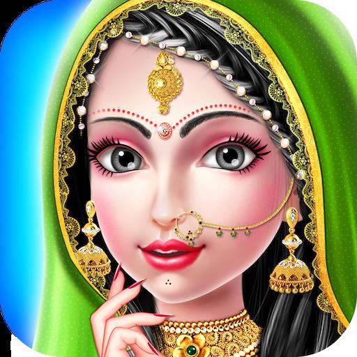 Indian Girl Wedding Salon - Indian Salon Games (game)