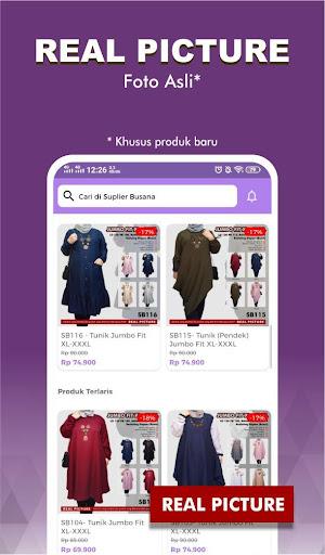 suplier busana : no.1 supplier online shop screenshot 1