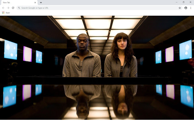 Black Mirror New Tab & Wallpapers Collection