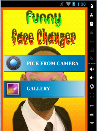 funny face changing games