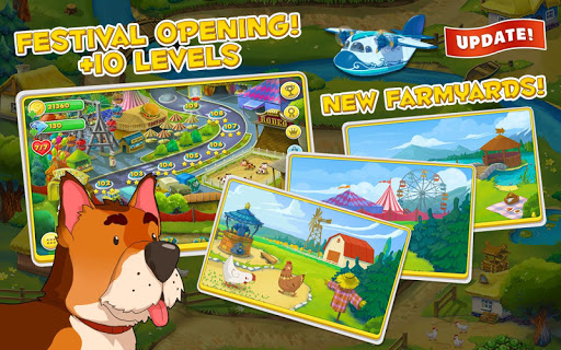 Jolly Days Farm: Time Management Game  captures d'écran 1