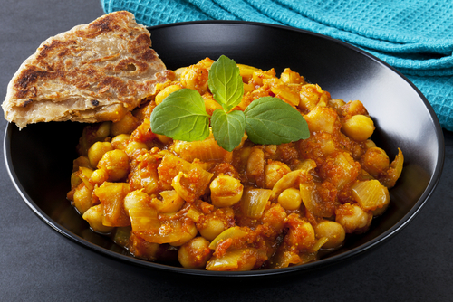Potato And Chickpea Curry Recipe | Yummly