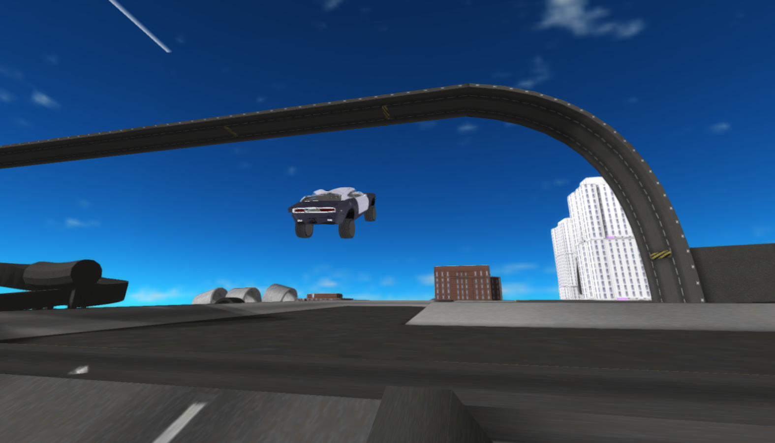 Car Driving Simulator 3D- screenshot