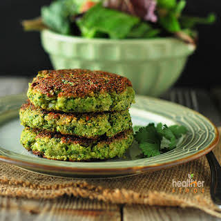 Broccoli Fritters.