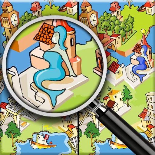 寻找差异 - 有什么区别 冒險 LOGO-玩APPs
