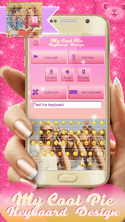My Cool Pic Keyboard Design 2.0 screenshot 2059728