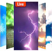 Animated weather live wallpaper& background