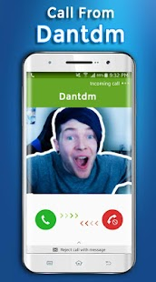 Call From Dantdm - Amazing Call - náhled