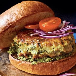 Mumbai-style Chicken Burger
