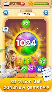 2048 Balls Merge MOD (Unlimited Money) 3