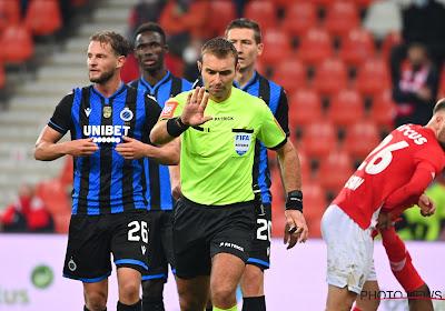 Les arbitres de la 25ème journée, dont le choc Club Bruges - Standard, sont connus