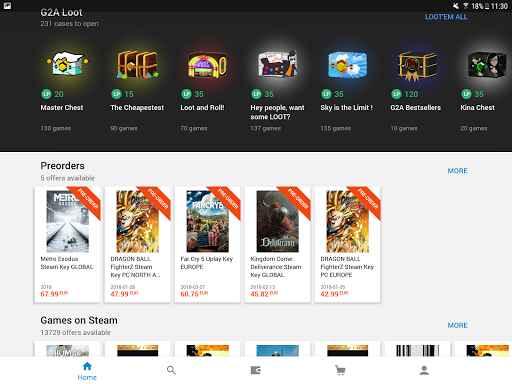 G2A - Game Stores Marketplace 1.10.3 screenshots 17