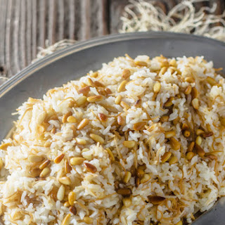 Lebanese Rice with Vermicelli.