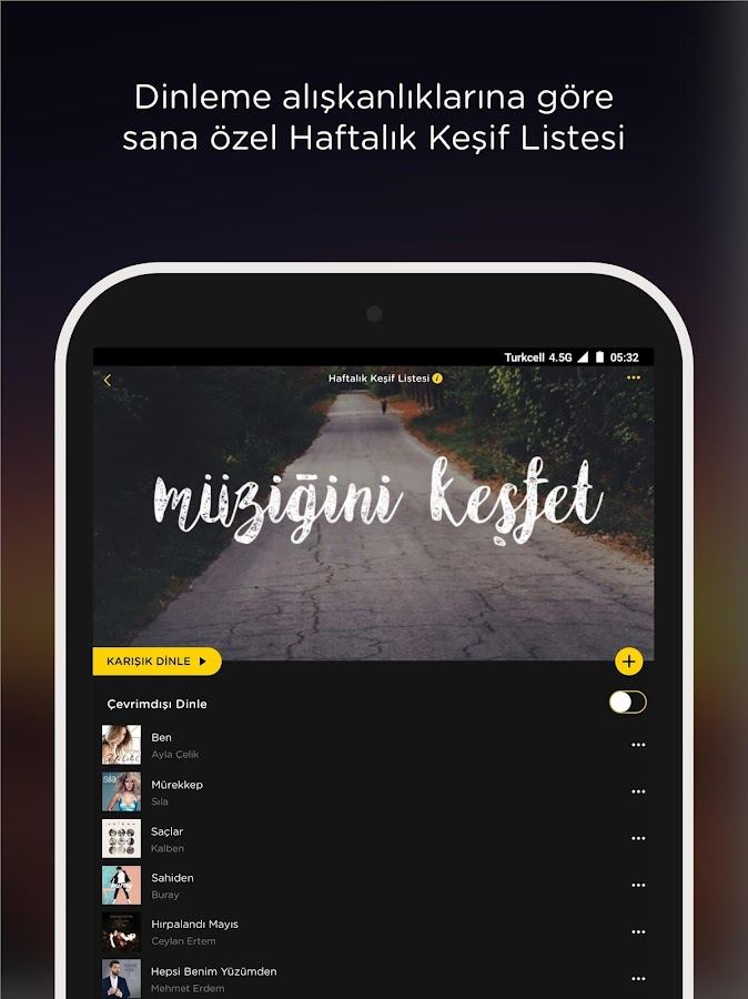 fizy Müzik & Video- screenshot