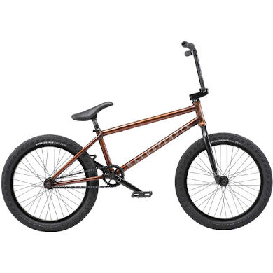 """We The People Revolver 20"""" Complete BMX Bike 21"""" Top Tube Translucent Root Beer"""