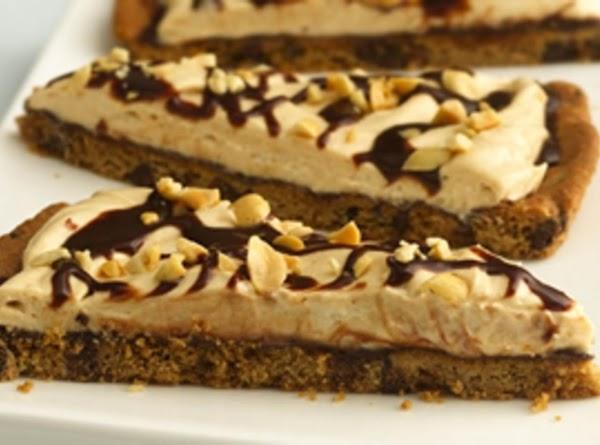 Chocolate-peanut Butter Cookie Pizza Recipe