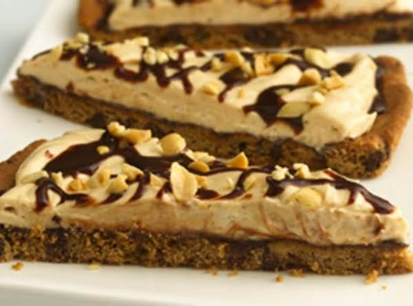 Chocolate-peanut Butter Cookie Pizza Recipe