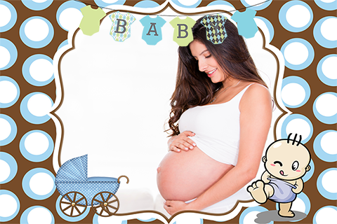 baby boy shower photo frames screenshot