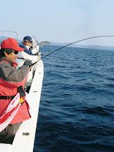 Photo: ダブルヒットで! ・・釣りまくる!