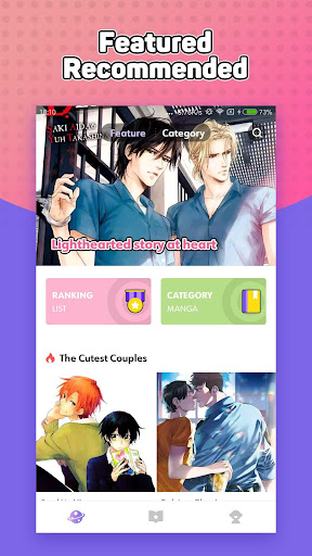 Yaoi Manga - Shounenai app (apk) free download for Android/PC/Windows screenshot