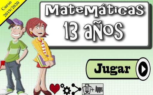 Matemu00e1ticas 13 au00f1os 1.0.14 screenshots 1