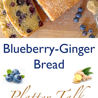 Blueberry-Ginger Bread