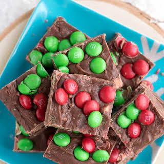 Snow Day Chocolate-Toffee Holiday Fudge.