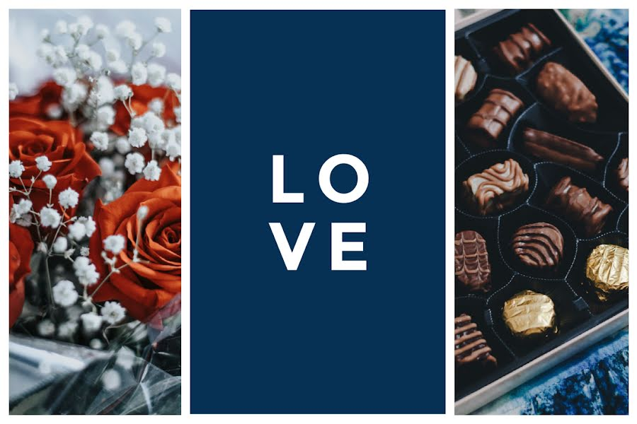 Roses & Chocolates - Valentine's Day Template