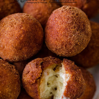 Garlic Chicken Cheese Balls