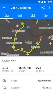 Runtastic PRO Laufen, Joggen und Fitness Tracker Screenshot