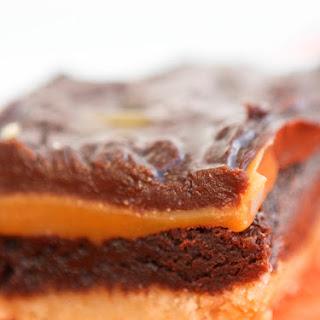 Caramel Cookie Crunch Brownies.
