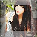 Square Photo Blur Image icon