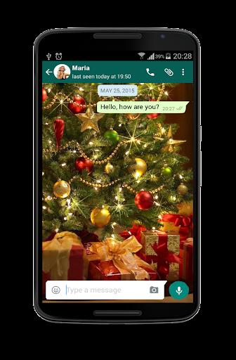 Christmas Messenger Wallpaper