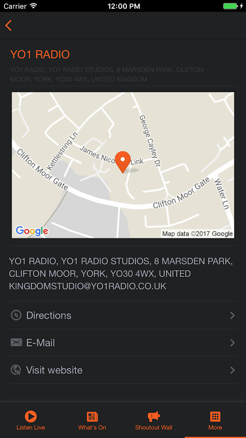 YO1 Radio- screenshot