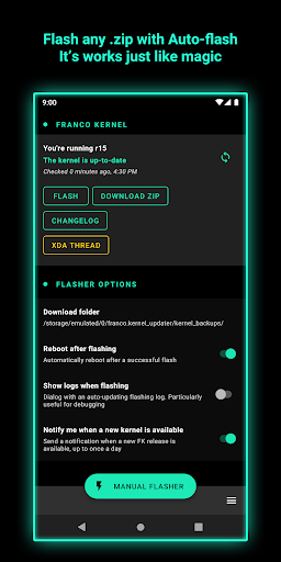 Screenshot for FK Kernel Manager - for all devices & Kernels ✨ in United States Play Store