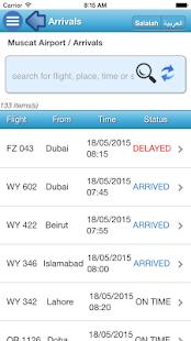 Oman Airports- screenshot thumbnail