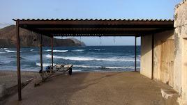 Vistas del mar desde el Parque Natural de Cabo de Gata-Níjar.