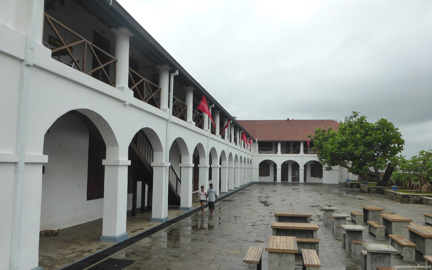Colonial Architecture, Galle, Sri Lanka