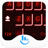 Lightsaber Keyboard Theme