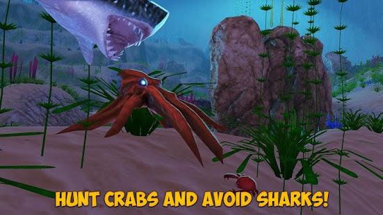Download Octopus Simulator: Sea Monster (Mod Money) untuk