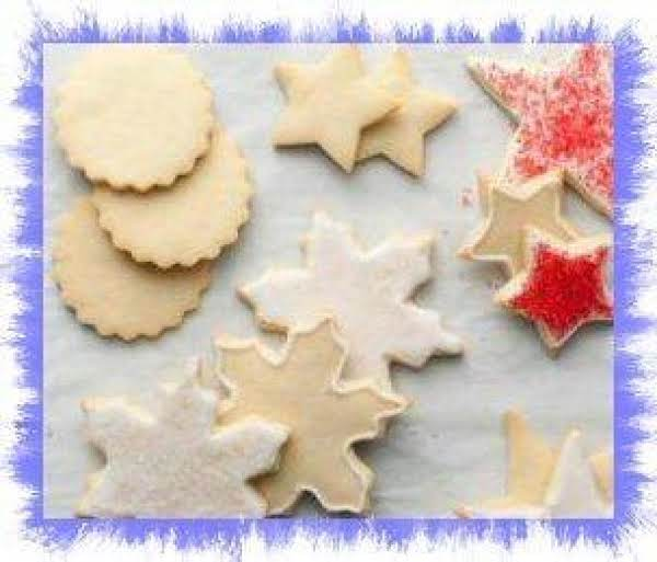 12 Days Of Cookies-sugar Cookies From Alton Brown
