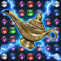 Jewels Magic Lamp : Match 3 Puzzle icon