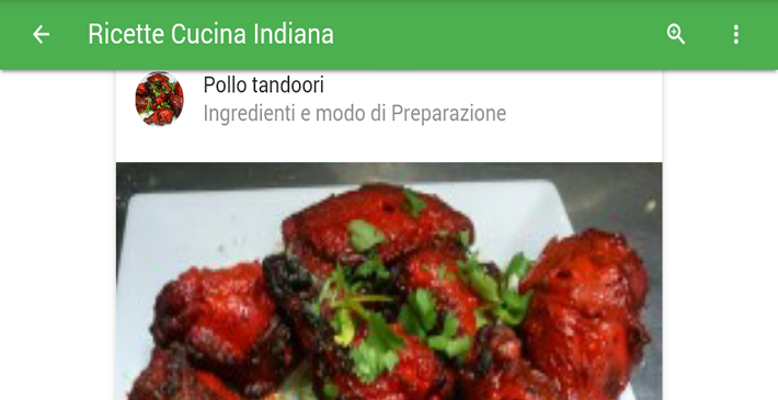 Ricette Cucina Indiana Android Apps On Google Play