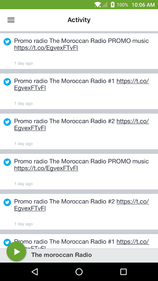 The moroccan Radio- screenshot