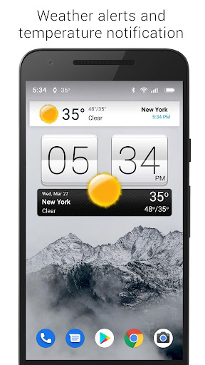 Sense V2 Flip Clock & Weather screenshot 10