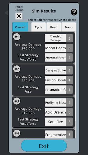 TT2 Raid Optimizer screenshots 5