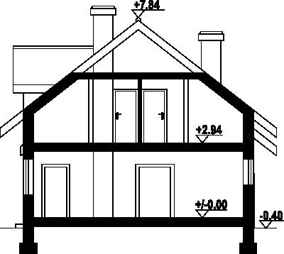 Osiek 15n - Przekrój